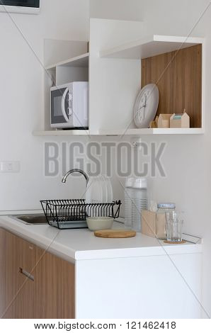 Modern Pantry With Utensil