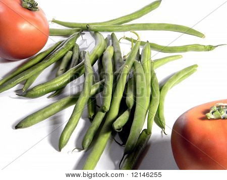 Beans and Tomatoes