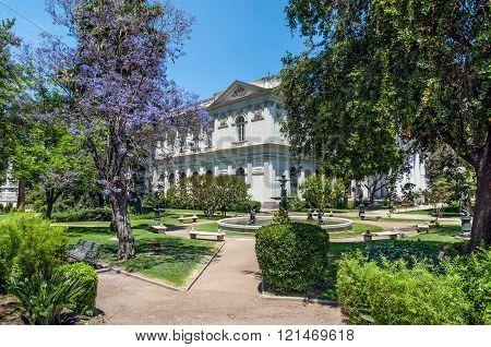 Former National Congress Building, Santiago De Chile