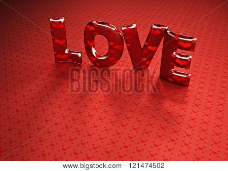 Dimensional Inscription Of Love