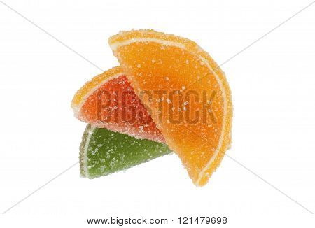 Colored Candied Fruit (comfit )