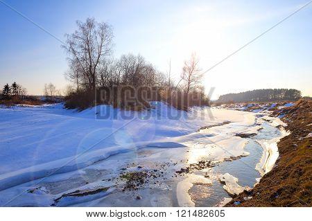 Myshkino Village, Russia.