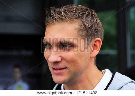 Pilot Of Renault F1 Team Vitaly Petrov