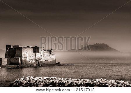 Egg Castle In The Bay Of Naples