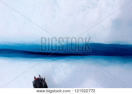 Crack in Glacier