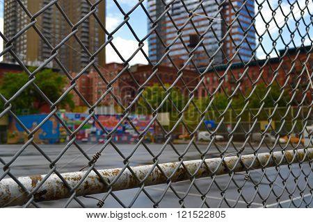 New York School Yard