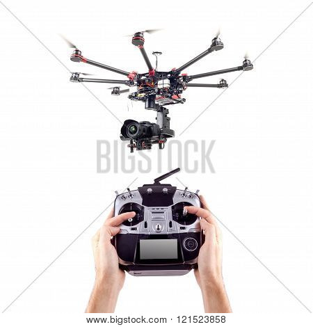 Drone, octocopter, copter