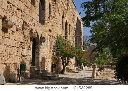 Kyrenia Castle, backyard. Kyrenia, Northern Cyprus