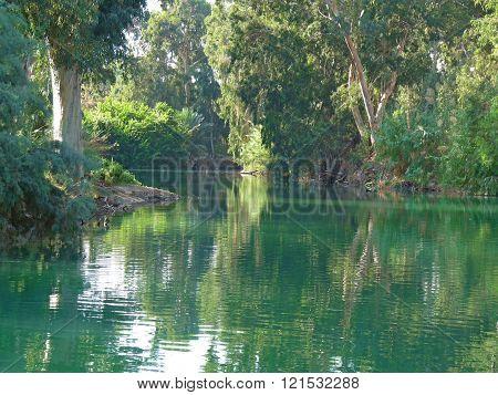 The magical Jordan River, Israel