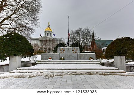 Concord, New Hampshire War Memorial