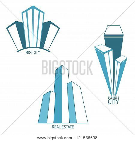 Skyscrapers Icons