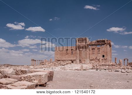 The ruins of Palmyra, Syria