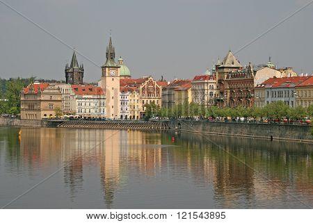 Prague, Czech Republic - April 28, 2010: Museum Dedicated To The Great Czech Composer Bedrich Smetan