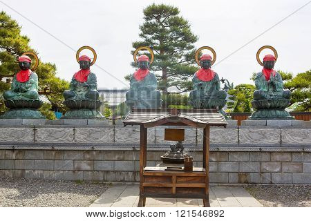 Important Zenkoji Temple, Nagano, JAPAN.
