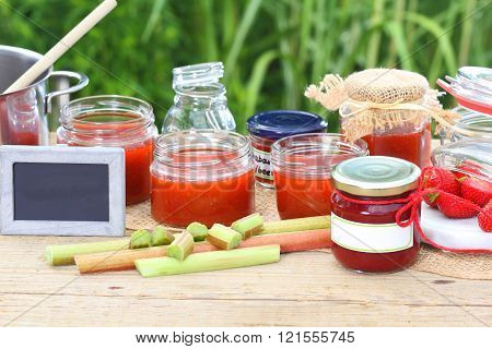 Jam Cooking In The Summer Kitchen