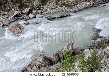 The river in the mountains