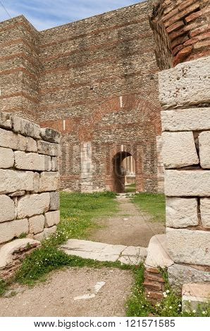 The Gymnasium Of Sardes Ancient City