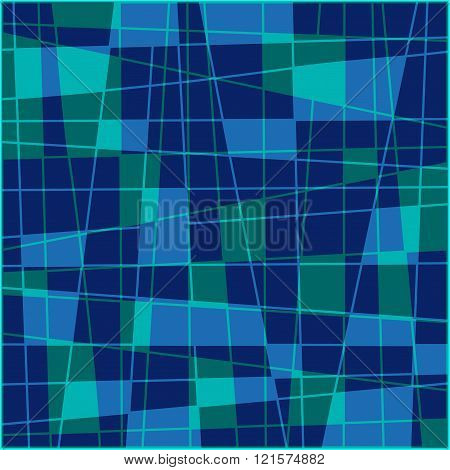 Geometric Quadrangle Background