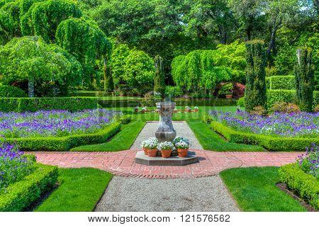 Formal English Garden Path