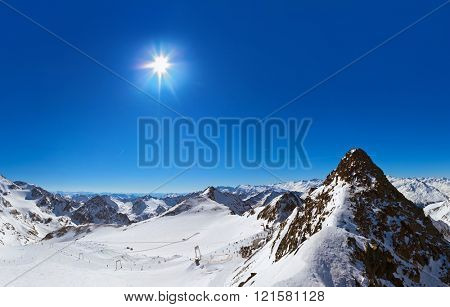 Mountains Innsbruck Austria - nature and sport background