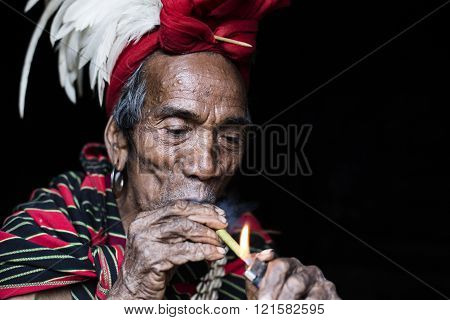 Chin tribal man