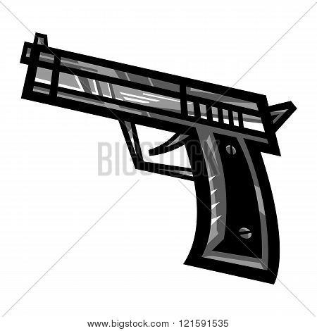 Gun vector icon
