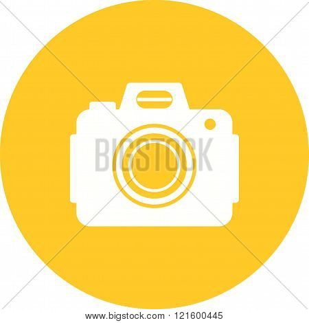 Camera, dslr, canon icon vector image. Can also be used for photography. Suitable for use on web apps, mobile apps and print media.