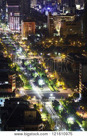 City lights, Kaohsiung, Taiwan