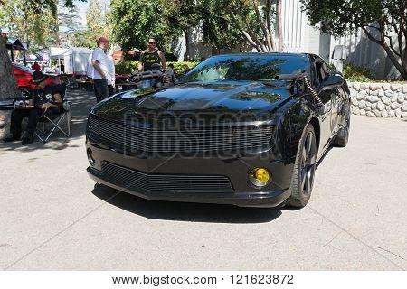 Chevy Camaro On Display