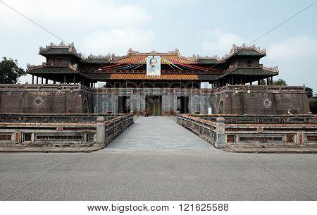 Hue Citadel, Culture Heritage, Dai Noi, Vietnam, Ngo Mon