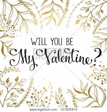 Valentine's Day wording