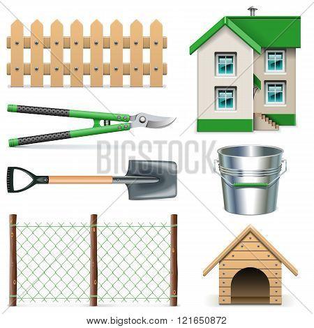 Vector Garden Icons Set 2