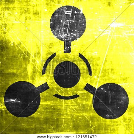 Chemical weapon sign