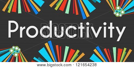 Productivity Dark Colorful Elements