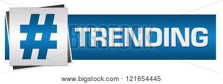 Trending Blue Grey Horizontal