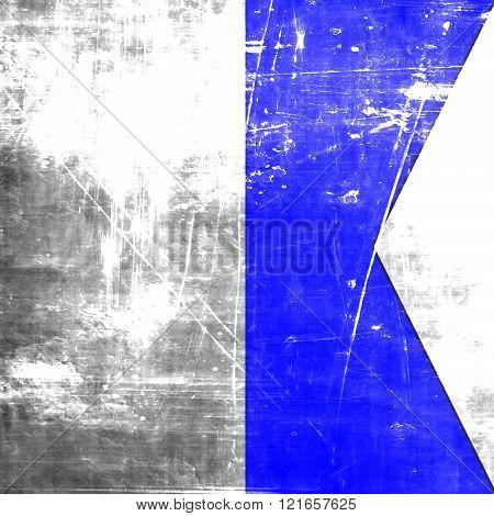 Alpha maritime signal flag