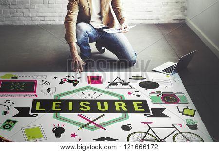 Leisure Activity Freetime Passion Hobbies Concept