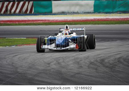 single seater race car