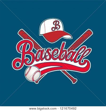 Logo baseball game