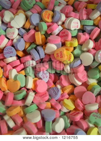 Sea Of Candy Hearts