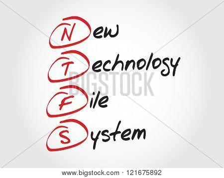 Ntfs New Technology File System