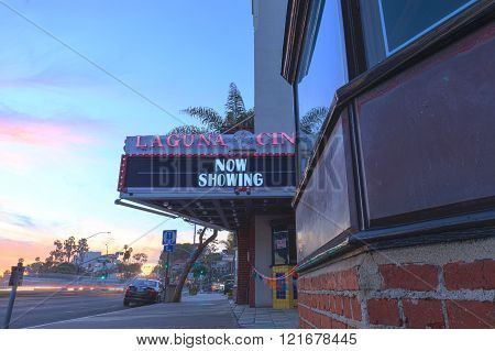 Laguna Cinema in Laguna Beach