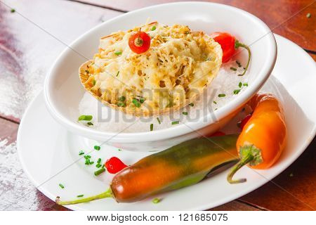 Crab Meat With Cheese