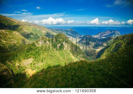 Aerial View From The Levada Balcoes
