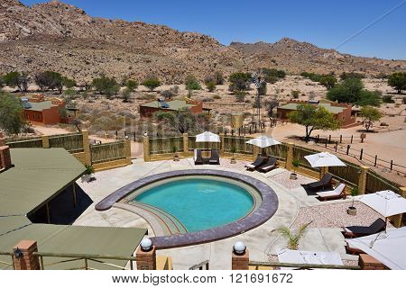 Klein-aus Vista Lodge In Namib Desert