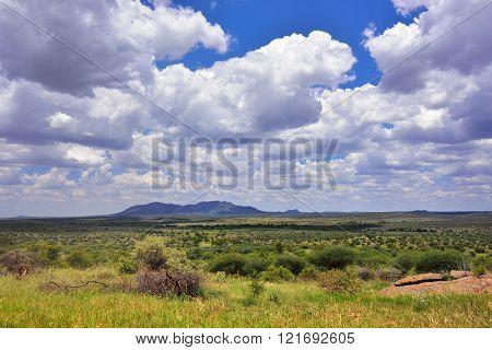 Central Namibian Highlands
