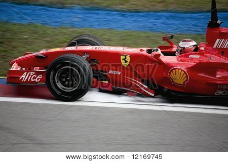 formula 1 2007 car, close-up, team ferrari