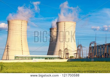 Thermal power plant, Czech Republic
