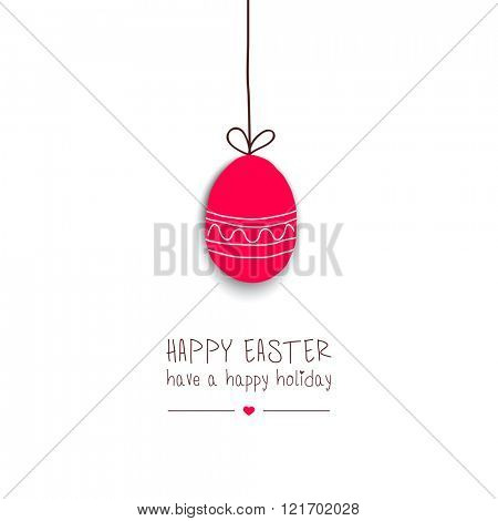 Easter greeting card.Vector