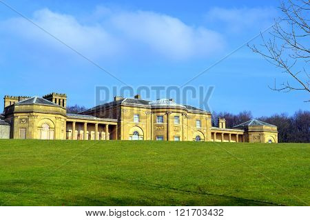 The grade 1 listed building Heaton Hall in Man